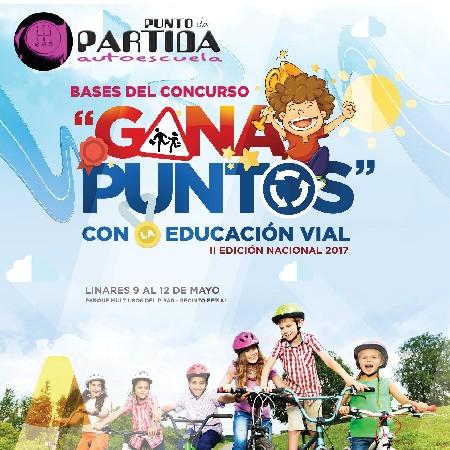CONCURSO GANA PUNTOS CON LA EDUCACIÓN VIAL 2016-2017 1